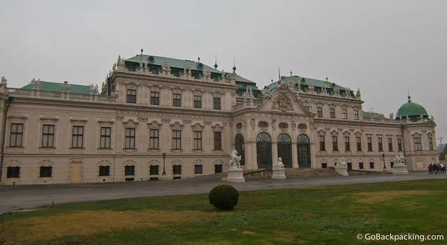 The Upper Belvedere Palace