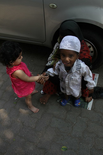 Giving a Helping Hand To A Beggar Child .. Nerjis Asif Shakir  15 Month Old by firoze shakir photographerno1