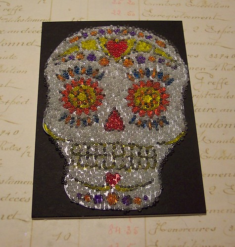 day of the dead sigar skull atc