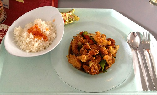 Pla Pad Ped - Gebackener Fisch in Chilisauce / Fried fish in chili sauce