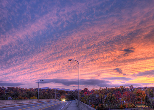 show bridge autumn trees sky mountains color clouds virginia saturday roanoke terry surprise hdr wasena aldhizer terryaldhizercom
