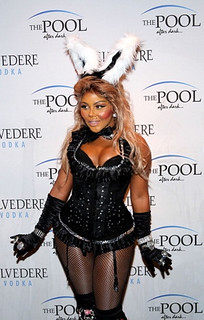 lil kim sexy playboy bunny rabbit costume