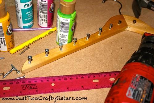 Clothes Hanger Necklace Rack