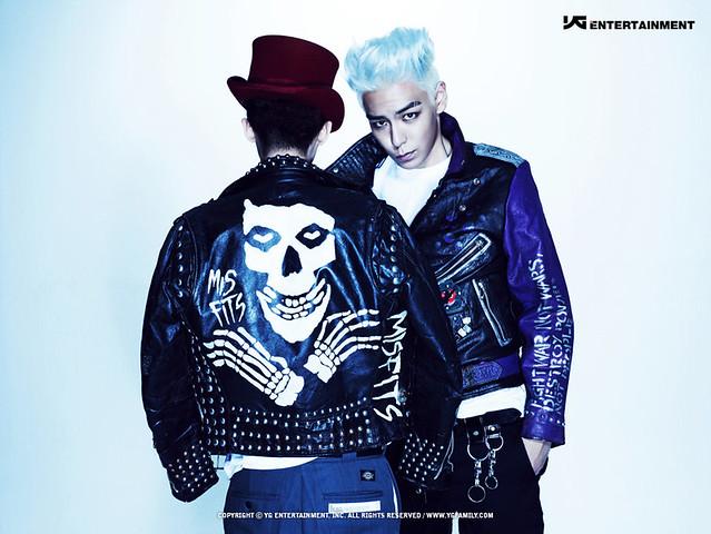 TOP G-Dragon and T.O.P from BigBang
