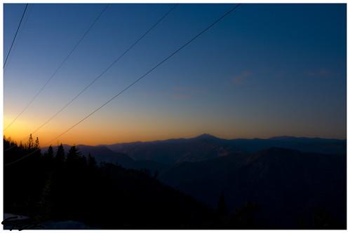 california park sunset usa sonnenuntergang national kalifornien yosemiti
