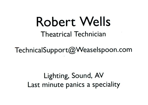 Theatrical Technician