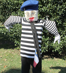 clothing, scarecrow, mime artist, clown, person,