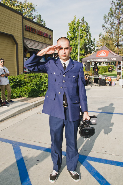 General Kevin Barnett Reportin' for Duty!