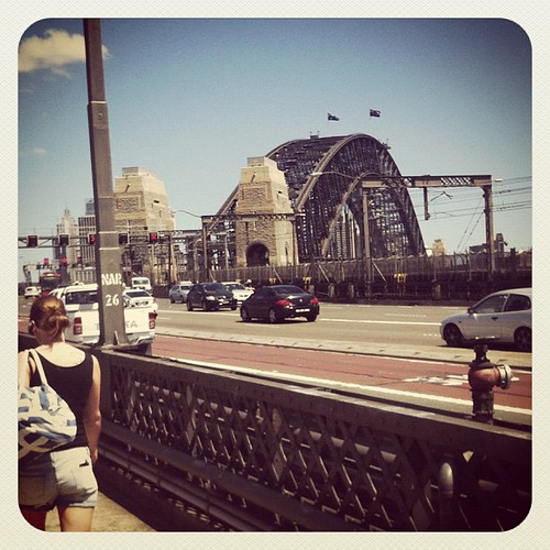 Went for a stroll over the Sydney Harbour bridge today.