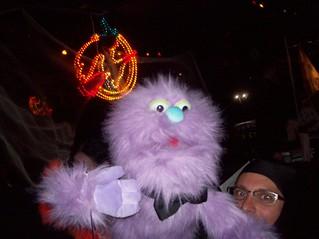 Halloween puppet
