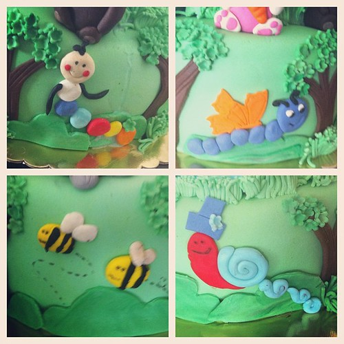 #animalscake#1st#birthdaycake by l'atelier de ronitte