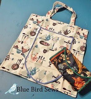 Fold-up Re-useable Tote