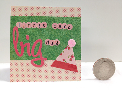 8367135161 421635ff3c 75 Creative Card Challenges Week – Make an Itty Bitty Card