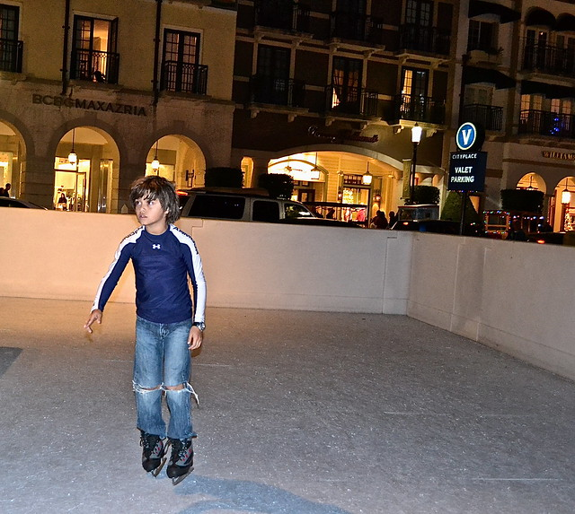 ice skate at city place in west palm beach florida