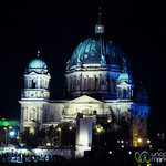 Berliner Dom at Night