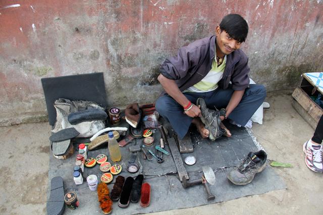 Cobbler in India