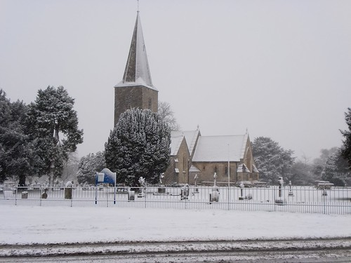 Quedgeley In The Snow 2013