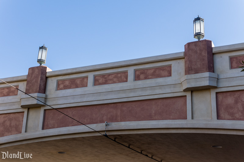 Buena Vista Street Glendale Hyperion Bridge Paint Change