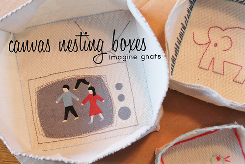 canvas nesting boxes