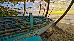 E68 Old Fishing Boat Heywoods Beach St. Lucy Barbados