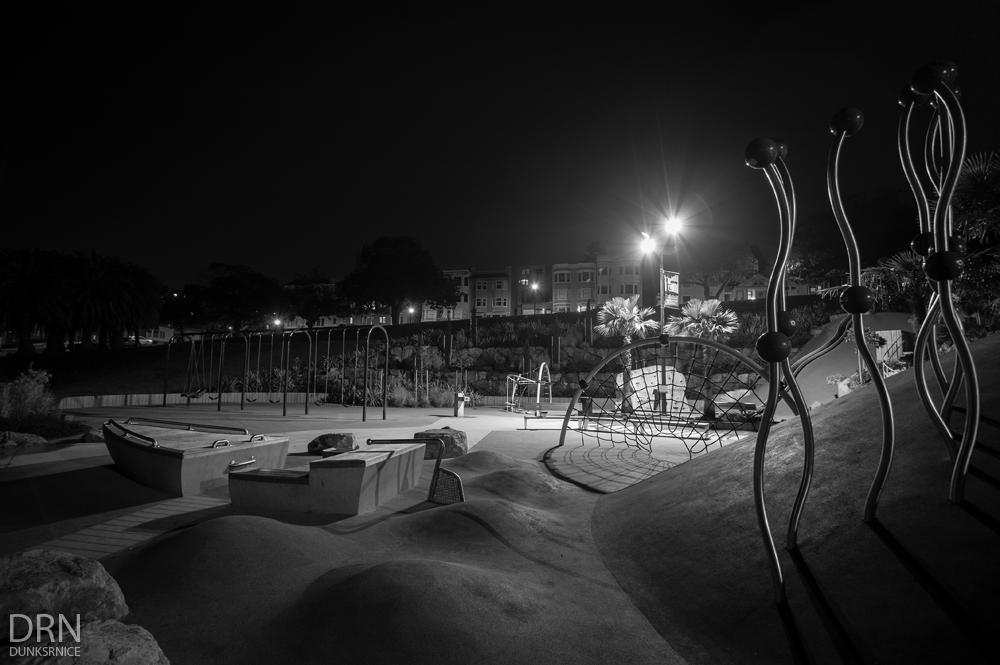 Playground B&W.
