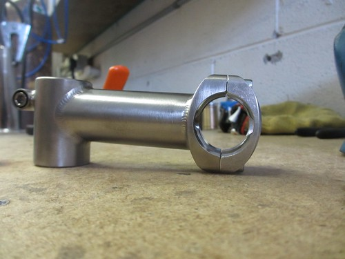 Titanium stem for an upcoming Allroad frameset