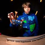 Masters Of Fingerboarding - Nollie Heel Wheelie