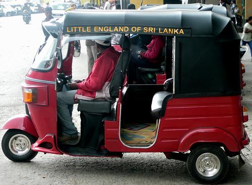 Tuk Tuk in Nuwara Eliya