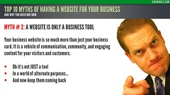 Myth 02: A Website is Only a Business Tool - Top 10 Myths Business Website - Sidewages