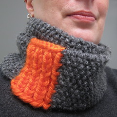 Iron Craft '13 #2 - Orange Slice Cowl