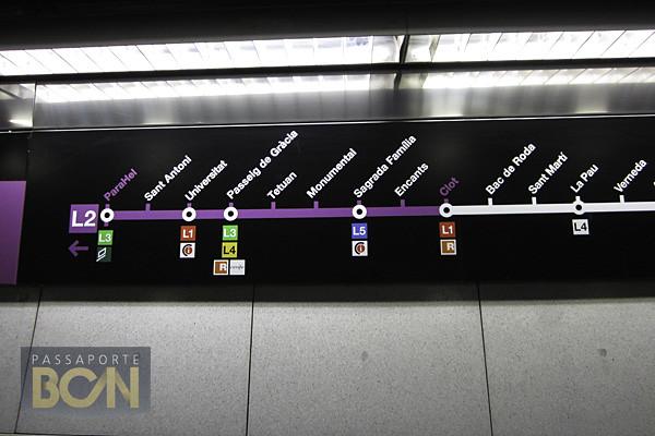 metrô de Barcelona