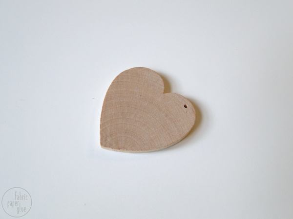 Wood Heart Necklace 2
