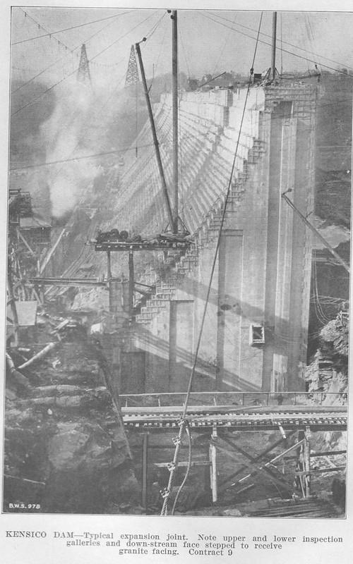 Report 1914 Dam Front Closeup