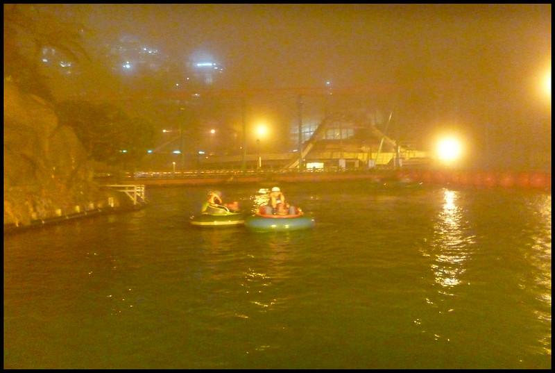 Bumper boats go bump!
