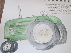 Young's Dairy Tractor