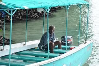 Mauritian boatman