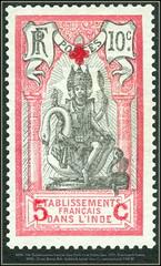 Stamps French India  Établissements français dans l'Inde