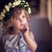 Little beauty in a flower crown. by www.sergeybidun.com