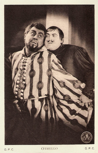 Emil Jannings and Werner Krauss in Othello (1922)