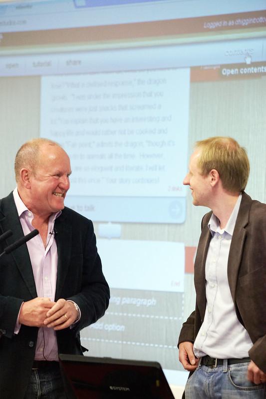 Ian Livingstone and Jon Ingold