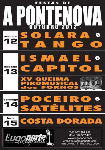 A Pontenova 2012 - cartel
