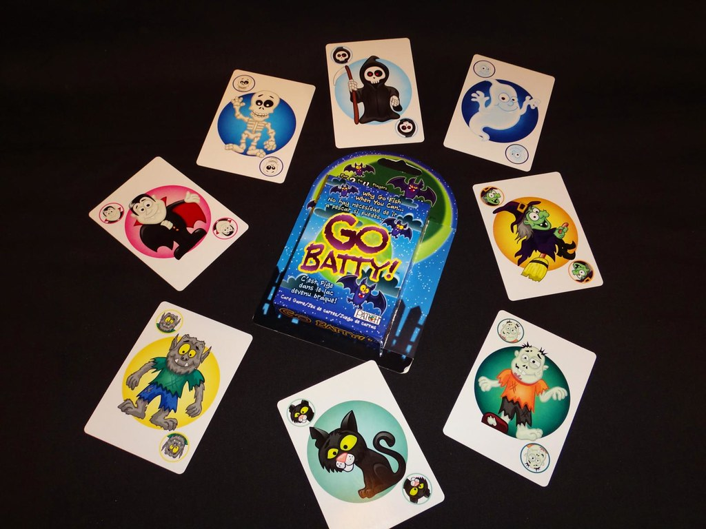 Go Batty card game