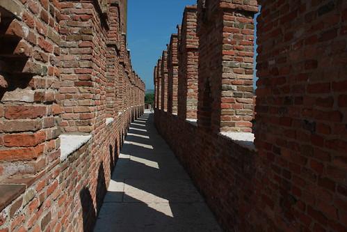 Castelvecchio: camminamento