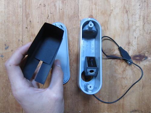 DIY Spectrometer Kit assembly test