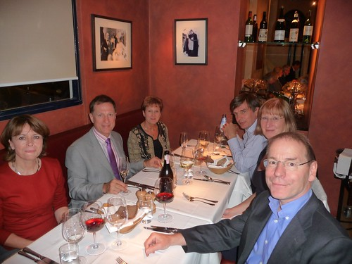 60th birthday meal - siblings and partners by markmclellan