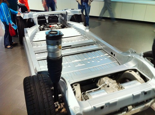 Tesla Motors Car Frame