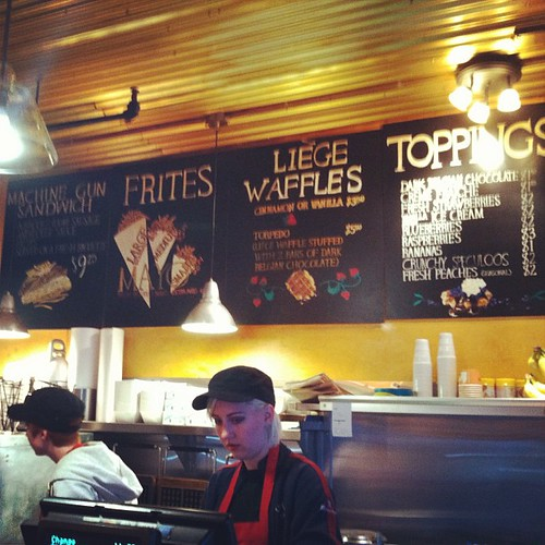 Waffle time! #sewingsummit