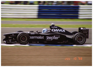 Mika Salo Arrows Hart A19 F1. 1998 British GP Silverstone.