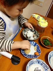 晩御飯とらちゃん (2012/10/13)