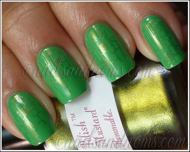 31DC2012 Day 4 Green Nails - 2
